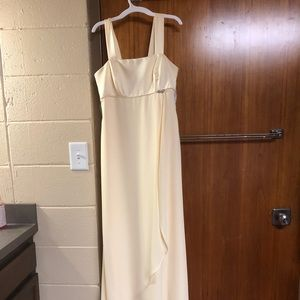Alfred Angelo yellow dress